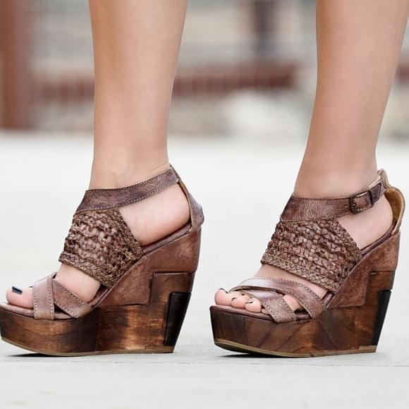 3684ac62338 Bed Stu Shoes - Bed Stu Cobbler Series Petra Wedges